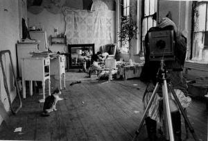 Woodman-autoportrait-au-miroir