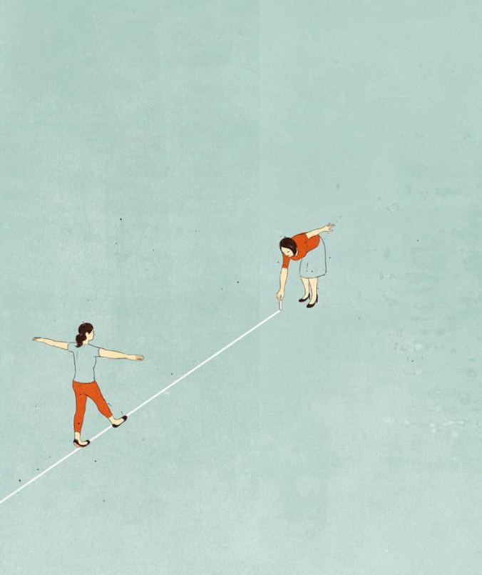 Alessandro-Gottardo-surreal-minimalist-illustrations_path